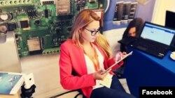 Виктория Маринова, болгарская журналистка (фото – со страницы Мариновой в Facebook'e).
