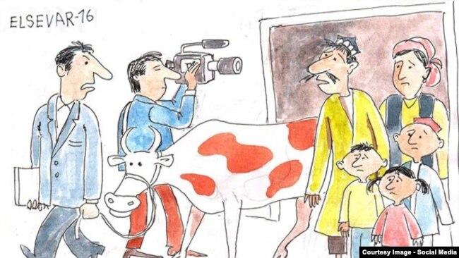 Eltuz.com нашридан олинган карикатура