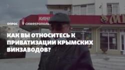 Приватизация винзаводов в Крыму. Что думают крымчане? (видео)