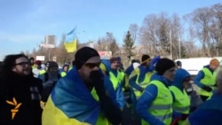 Poles Run To Kyiv's Maidan From Warsaw
