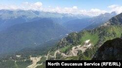 Строительство дороги на территории национального парка