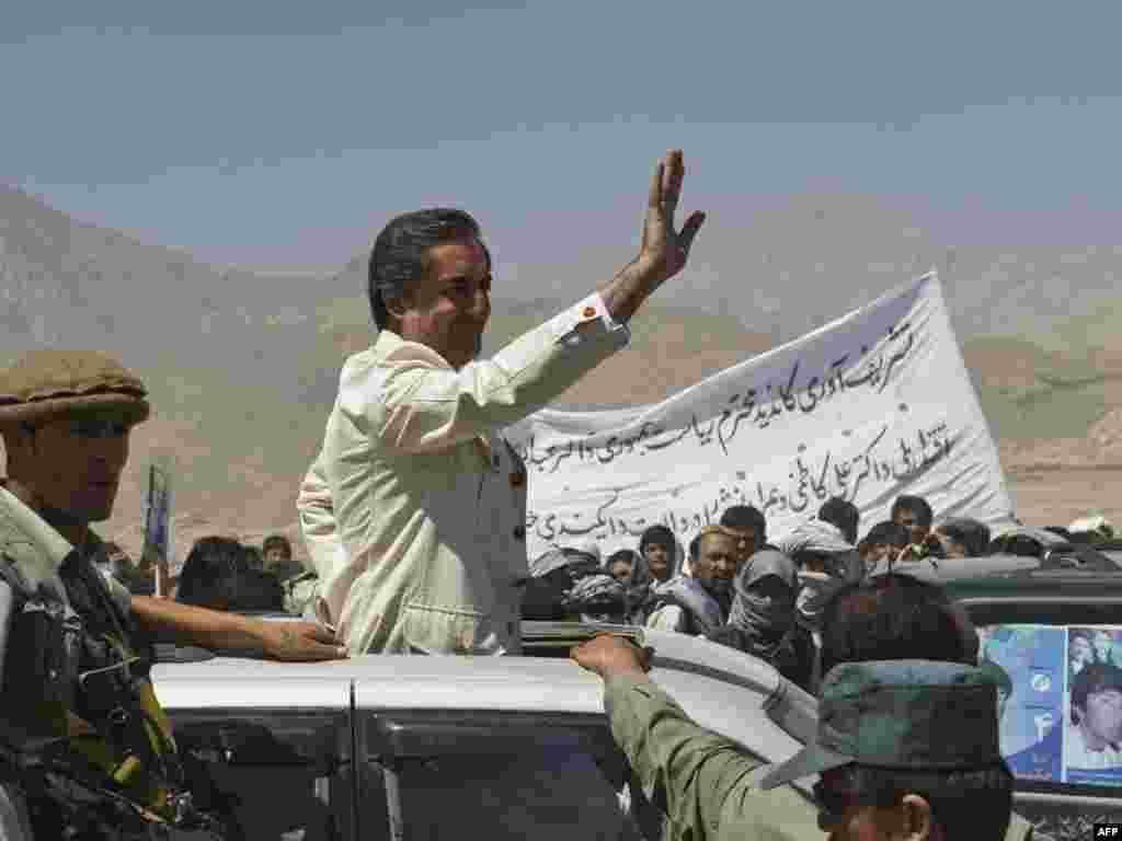 Predsednički kandidat Abdullah Abdullah