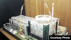Macheta centralei nucleare Belene