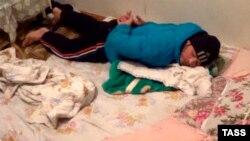 Узбекский мигрант, задержанный в Екатеринбурге и обвиняемый в связях с «ИГИЛ», 8 февраля 2016 года.