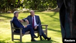 وزیران امور خارجه روسیه و آمریکا