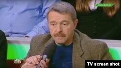 Григорий Амнуэль выступает в передаче телеканала НТВ