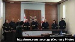 საქართველოს საკონსტიტუციო სასამართლოს მოსამართლეები