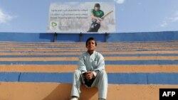 Një djalë i ri në Afganistan