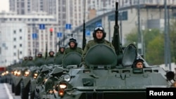 სამხედრო აღლუმი მოსკოვში