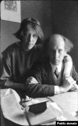 Ася Тургенева и Андрей Белый