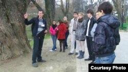 Экскурсія ў Лошыцкім парку