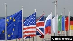 پرچم کشورهای عضو گروه هشت
