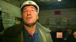 Косовские шахтеры устроили подземную забастовку