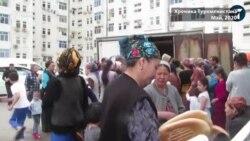 Правительство Туркменистана прячет продуктовые очереди для сохранения своего имиджа