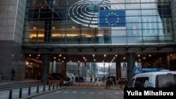 Здание Европейского парламента в Брюсселе