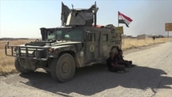 Iraqi Troops Advancing Toward Mosul