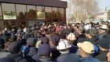 Batken - Kyrgyzstan - border - tortgul - tortkul - Maripov - protest action - 5.02.2021