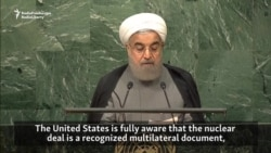 Iran's Rohani Says U.S. Not Compliant With Nuclear Deal
