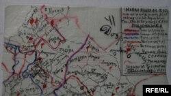 Карта –мережа « Просвіти» в галицьких містах і селах