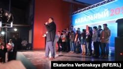 Встреча Алексея Навального с жителями Иркутска