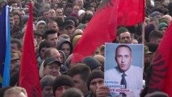 Protestë në përkrahje të Haradinajt