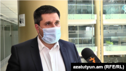 Armenia -- Hayk Yesayan speaks to RFE/RL, July 7, 2020