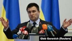 Павел Климкин, Украина сыртқы істер министрі.