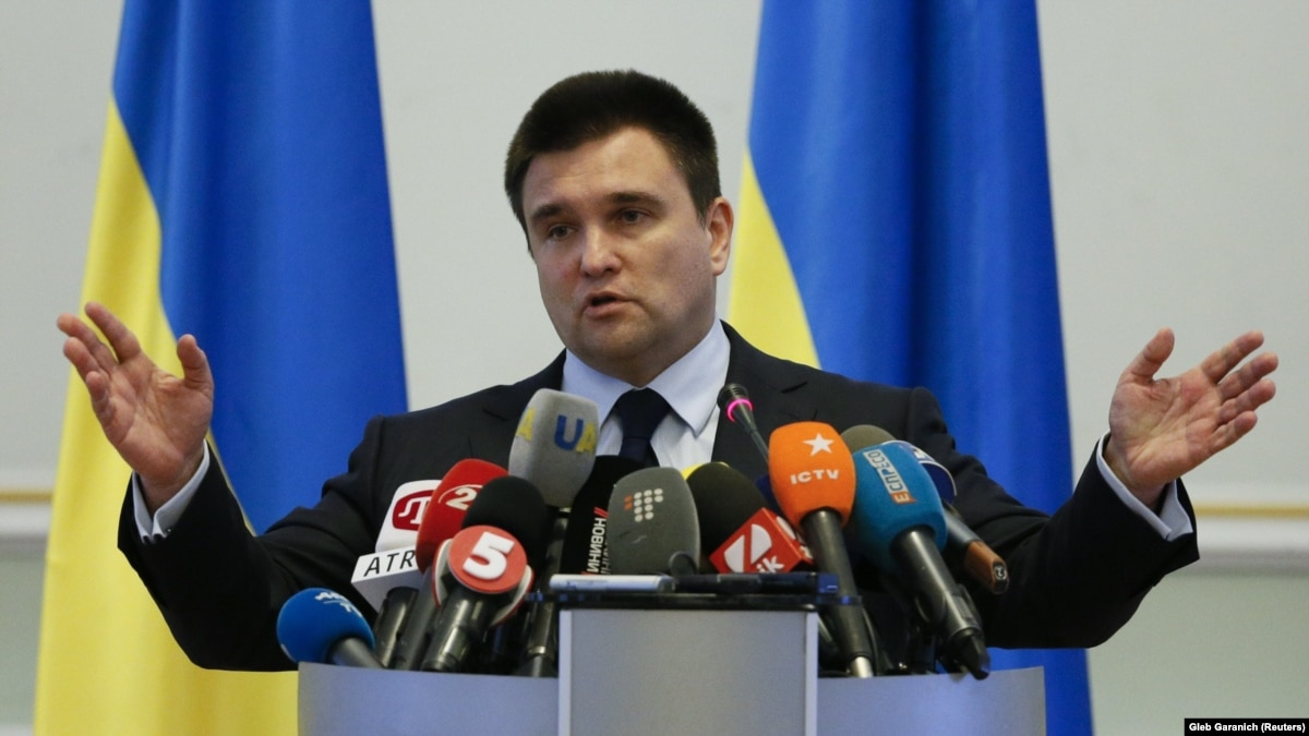 Климкин считает, что ЕС введет новые санкции из-за «выборы» на Донбассе