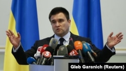 Ukrainian Foreign Minister Pavlo Klimkin (file photo)