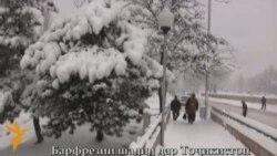 Бидуни шарҳ: Барфрезии шадид дар Душанбе