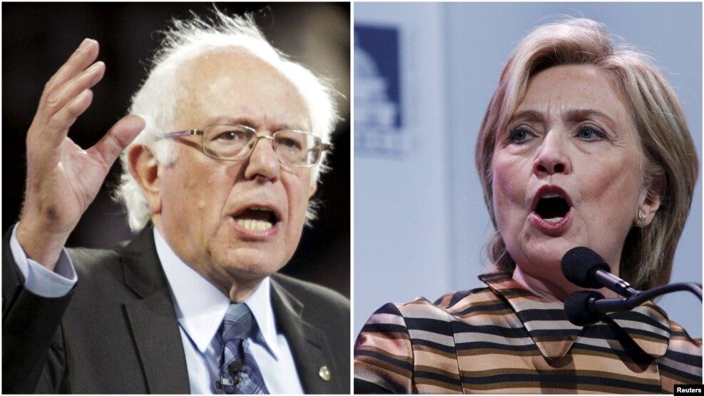 Sanders dhe Clinton