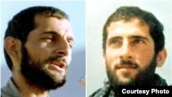 مهدی(چپ) و حمید باکری از فرماندهان سپاه که در جریان جنگ هشت ساله ایران و عراق جان خود را از دست دادند.