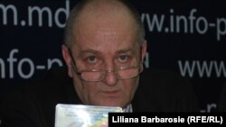 Sergiu Caracai, președintele Uniunii Voluntarilor