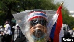 Лицо протестов-2013-2014 в Таиланде