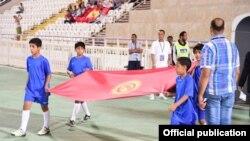Флаг Кыргызстана. Иллюстративное фото.