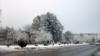 В канун нового года в Ашхабаде был сильный снегопад, 28 декабря, 2020