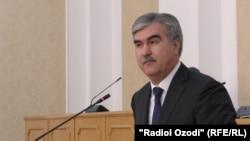 Тажикстан каржы министри Файзиддин Каххорзода.