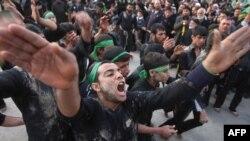 Ритуал шиитских поломников