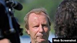 Берти Фогтс, главный тренер сборной Азербайджана по футболу