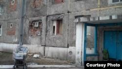 Иркутск. Дом, в котором опасно жить. Фото Екатерины Вертинской