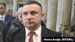 Kryetari i Komunës së Graçanicës, Sërgjan Popoviq.
