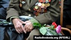 Парк Партизанської слави у Києві 9 травня