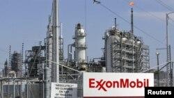 Нефтеперерабатывающий завод Exxon Mobil в штате Техас.
