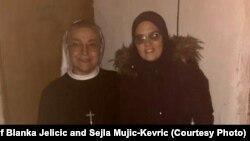 Časna sestra BlankaJeličić i mualima Šejla Mujić-Kevrić