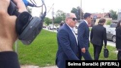 Dragan Mektić ispred Suda Bosne i Hercegovine, 4 juni 2020.