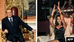 Сильвио Берлускони и танцовщица Руби