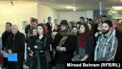 Posjetioci na otvaranju izložbe