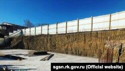 Строительство дайвинг-центра под Феодосией