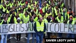 Protesti žutih prsluka u Parizu, ilustrativna fotografija