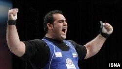 بهداد سلیمی در دسته فوق سنگین وزنهبرداری، قهرمان جهان و المپیک است